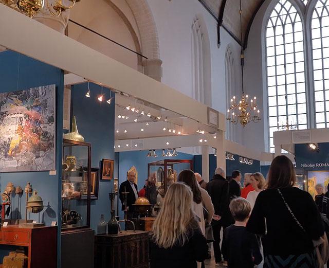 grote kerk naarden kunst en antiekbeurs interevent